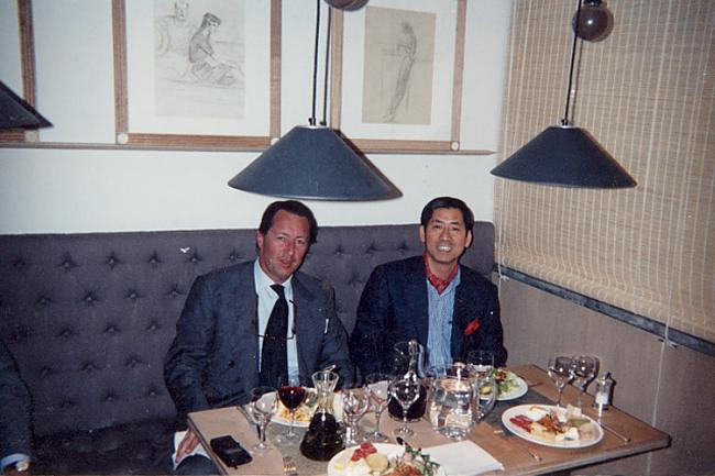 柴田さんを温かく見守ってくれた故セルジオ・ロロ・ピアーナ氏
